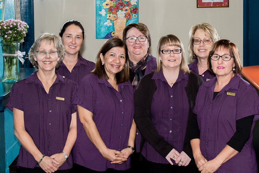 The Admin team at our medical practice